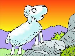 Parable of the Lost Sheep Free Visuals: One hundred sheep A caring shepherd  searches for one of his sheep…   The lost sheep, The lost sheep activity,  Bible crafts